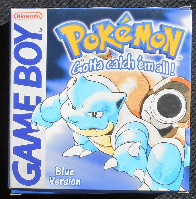 Pokémon Blue Version Nintendo Game Boy Color (European) - Catawiki