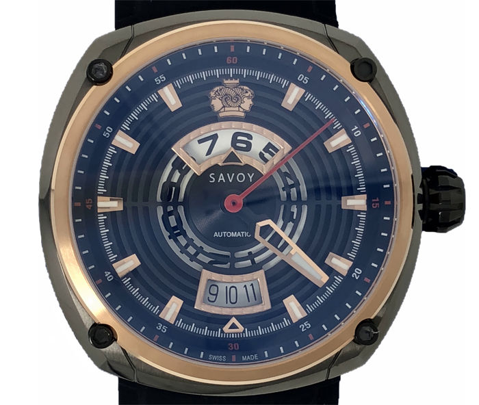 Savoy - Epic Continuous Hour Limited Edition Rose Gold  - F8202H.02E.RB01 - Herren - 2011-heute
