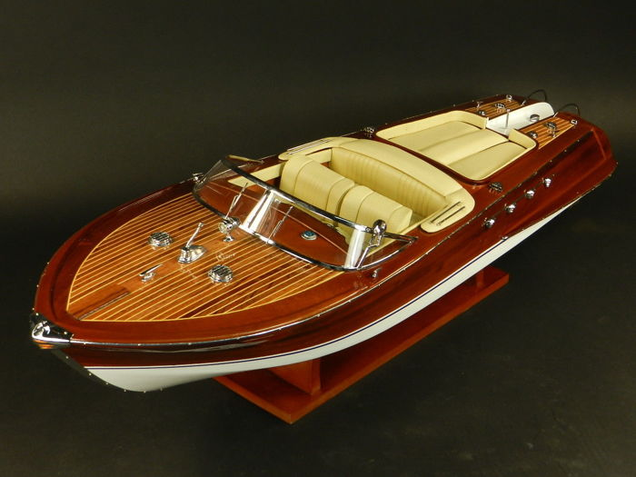Riva Aquarama 53cm model, Scale boat model - Wood - 2018