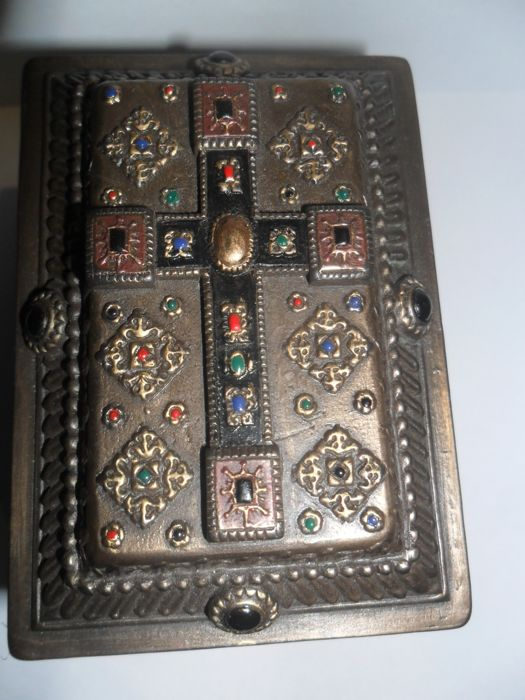 Beautiful unique engraved reliquary box,russia