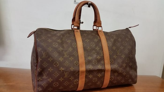 Louis Vuitton - Boston 45 Keepall Utazótáska - Vintage - Catawiki 41b9eac1c8