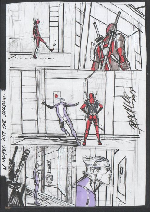 Uncanny Avengers 6 - Page 20 prelim by Carlos Pacheco - First edition - (2013)