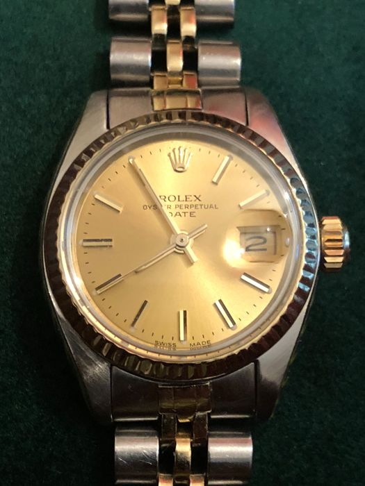 99e1005051c Rolex - Oyster Perpetual Datejust - 6917 3 - Mujer - 1970-1979 ...
