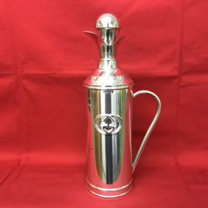 Gucci - Rare silver plated thermos flask - Italy, mid 20th century