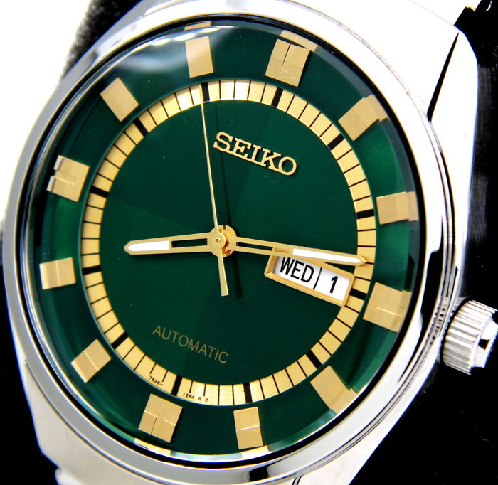 "Seiko - Automatic ""Green Dial"" - New - ""NO RESERVE PRICE"" - Heren - 2011-heden"