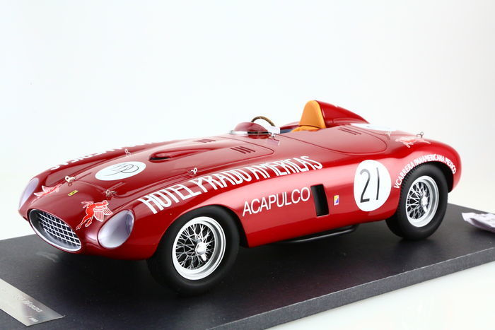 CMF - 1:12 - Ferrari 250 Monza #21 Carrera Panamericana - Limited Edition or 100 pcs.