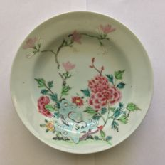 Antique chinese porcelain plate - 18th C