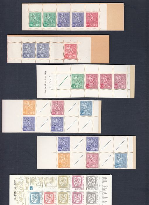 Finland - Stamp booklets