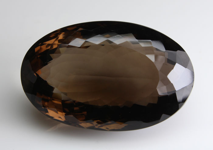Smoky quartz - 144.15 ct - No reserve price