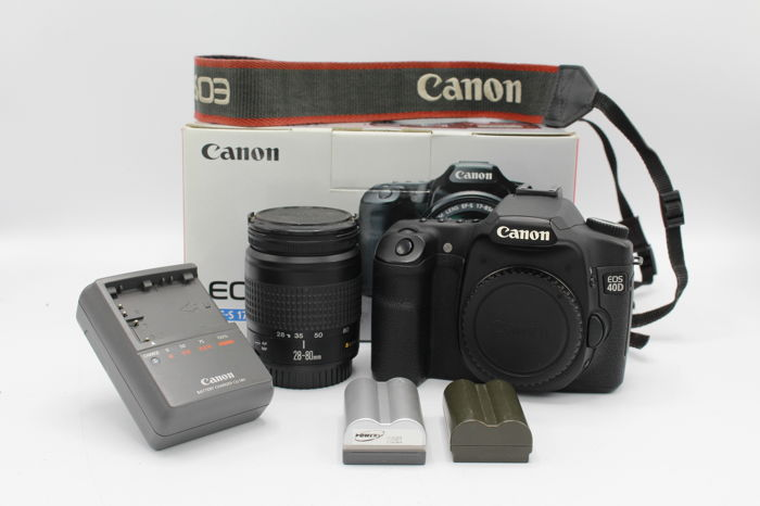 Canon EOS 40D with Canon EF 28-80mm F3 5-5 6 and