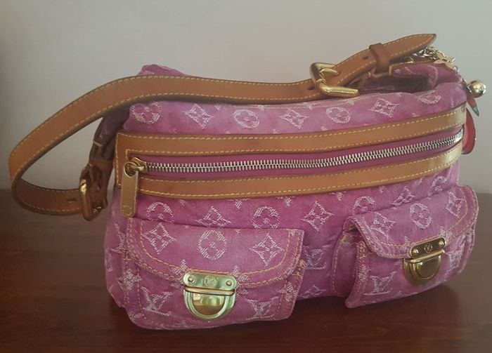 73c7320f10 Louis Vuitton - Buggy PM monogram denim pink Borsa a tracolla ...