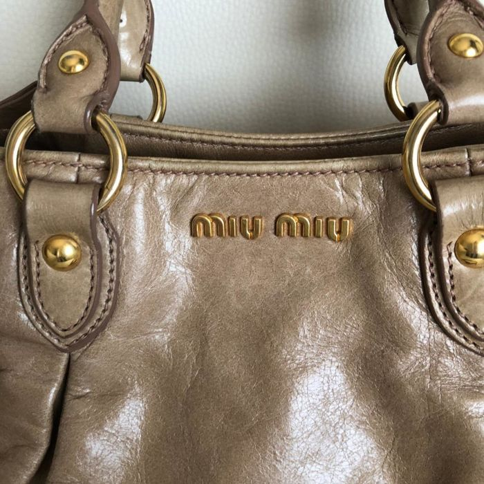 Miu MIu Bow (strik) Handtas Crossbody tas Catawiki