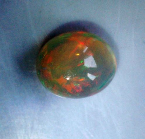 Opal -3.42Carats -Play of color effect