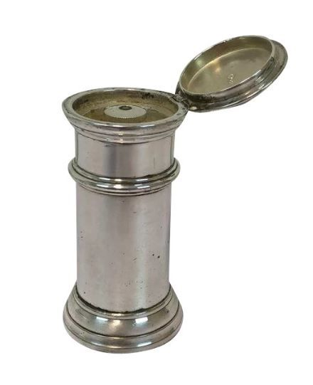 Silver plated pepper mill - France - Ca. 1930