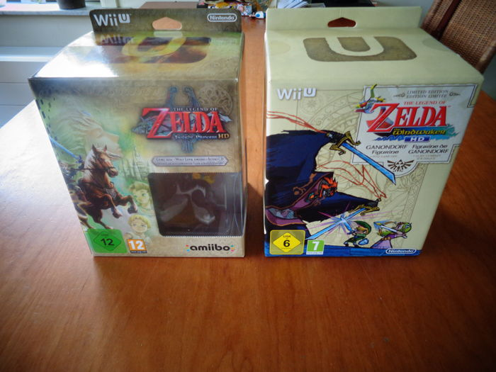 Wii U Limited Editions Brand New And Sealed Zelda The Windwaker And Zelda Twllight Princess Catawiki