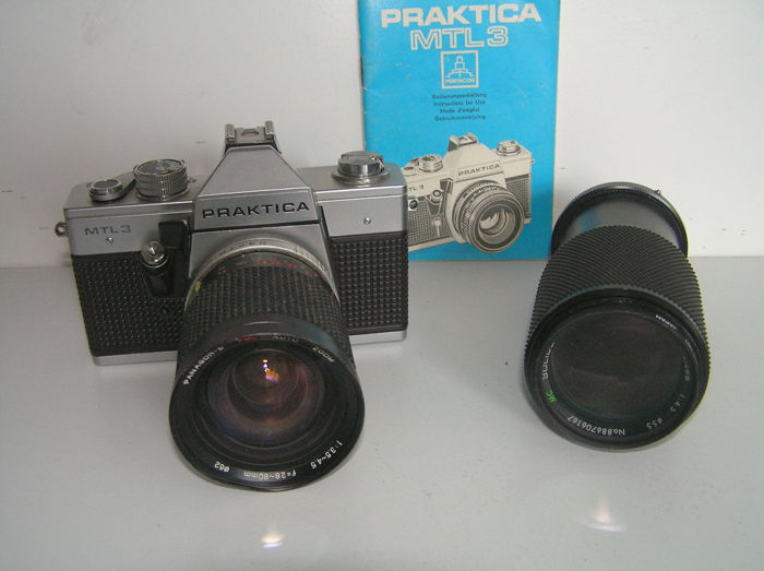 Praktica mtl with lenses catawiki