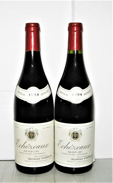 Echezeaux Grand Cru 1994, Georges Vasseur - Lot of 2 bottles