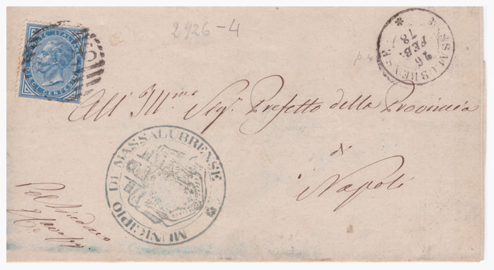 italy kingdom/republic 1878/1951 - lot with letters and entire postage