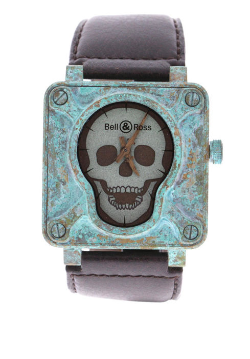 Bell & Ross - BR01 Skull Patine Limited 50 EXTREMELY RARE - BR01 SKULL PATINE 1120 - Unisex - 2018