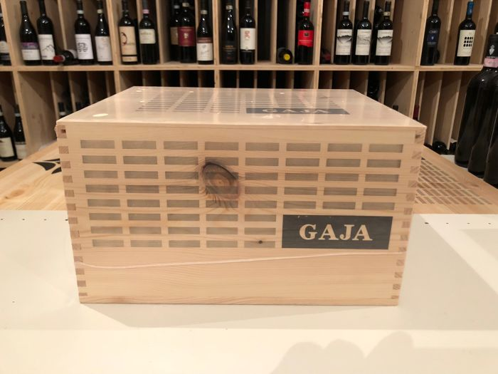 2015 Gaja Barbaresco - 6 bottles (0.75 L) in sealed OWC