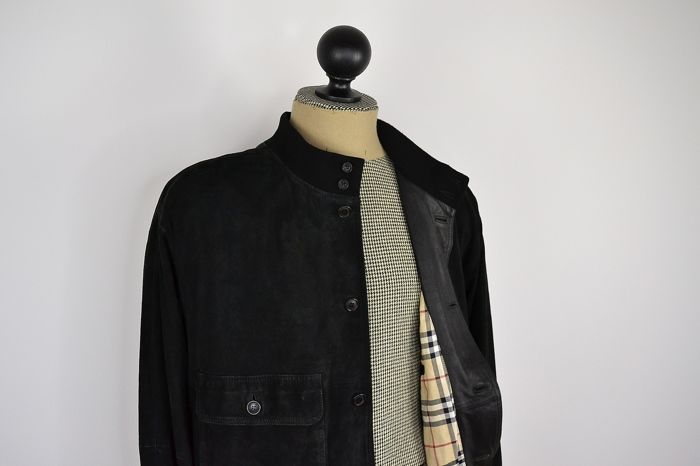9f72d89c364ae Burberry - Leather jacket - Catawiki