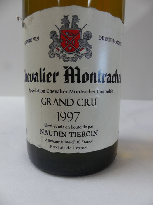 1997 - Chevalier Montrachet Grand Cru - Naudin Tiercin - 1 bottle