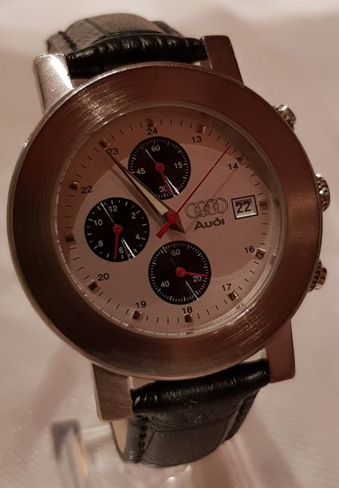 AUDI DESIGN - Watch chronograph for men - 1988