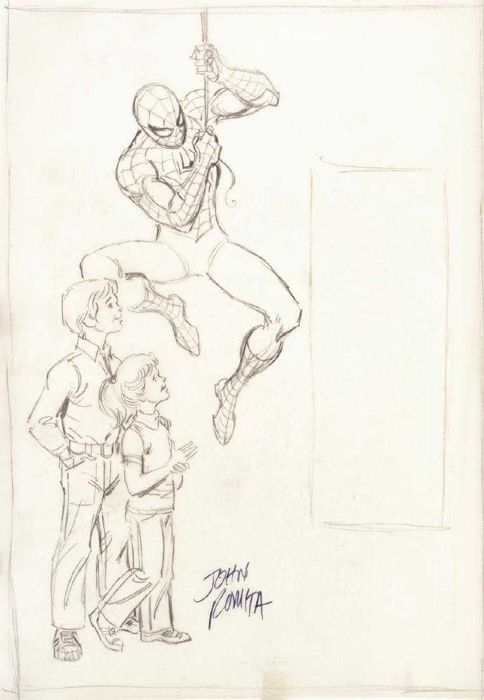 Amazing Spider-man - Romita Sr, John - original comic art - First edition