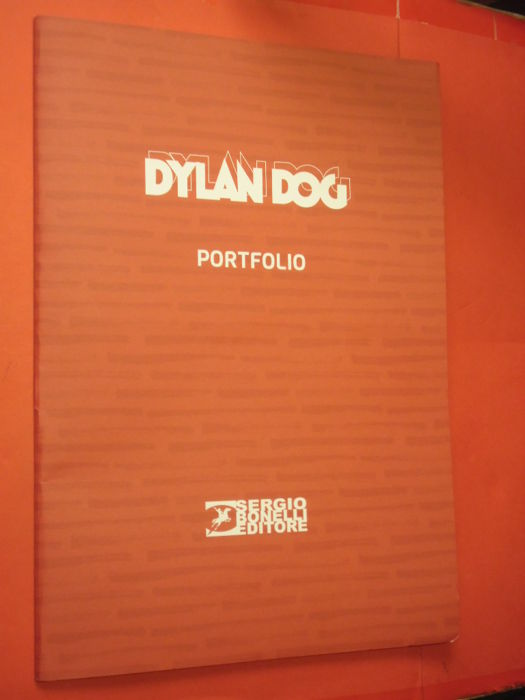 Dylan Dog - Portfolio 7x lito limited Edition - Loose page - First edition - (2017)