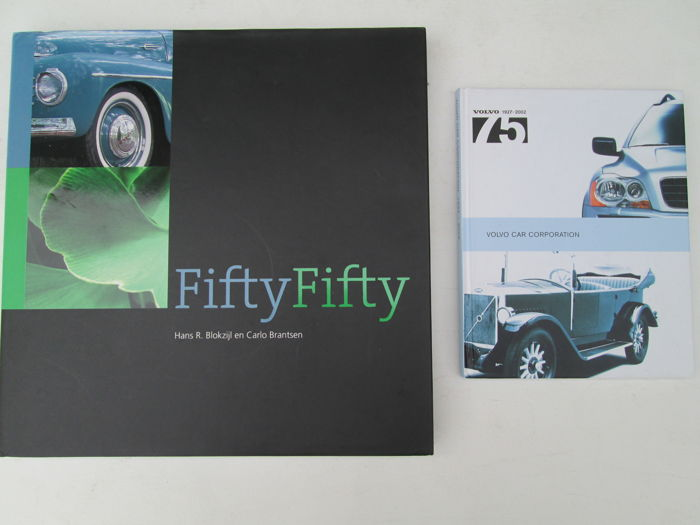 Books - Autoboek Volvo FiftyFifty / Volvo 75Jaar 1927-2002 - 2011 (3 items)