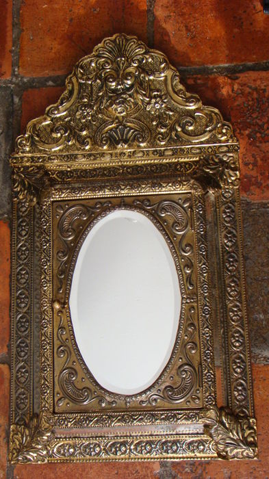 Copper mirror cabinet - 1 - copper