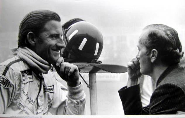 Decoratief object - Graham Hill/Colin Chapman Lotus Team - Germany - 1968 (1 items)