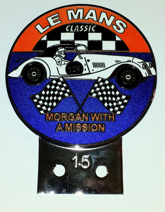 Decoratief object - Auto Grille badge - MORGAN WITH A MISSION - 2018 (1 items)