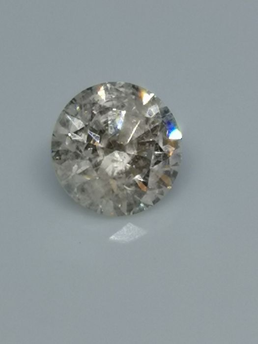 1.50 ct - Round Brilliant - White - G / SI3