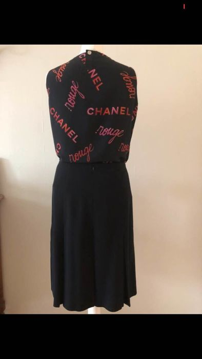 Chanel - blouse and skirt set - Catawiki f49600de117