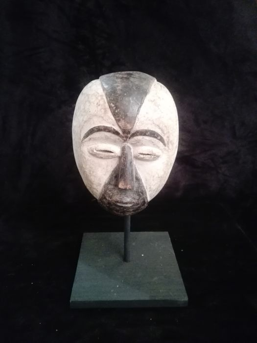 Mask - Wood - Galoa - Gabon