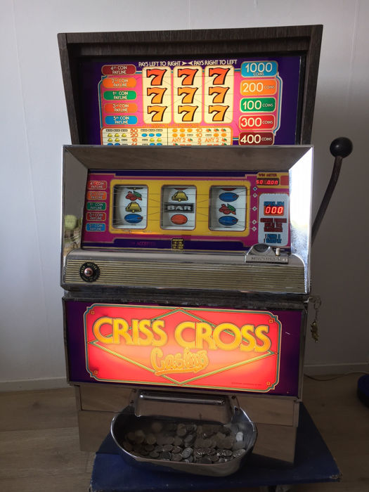 Bally Criss-Cross Casino fruit machine/slot machine - Catawiki