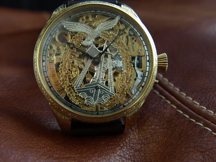 Glashütte Original - skeleton marriage watch  - 184798 - Hombre - 1901 - 1949