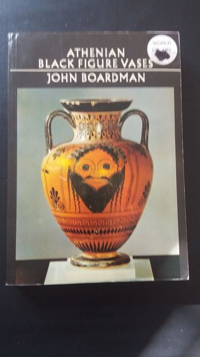 Athenian Black Figure Vases Book By John Boardman Cm 15 X Cm 20