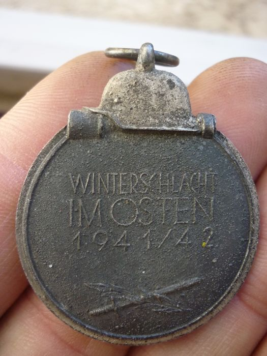 6 1) Lot of two German medals of World War II including