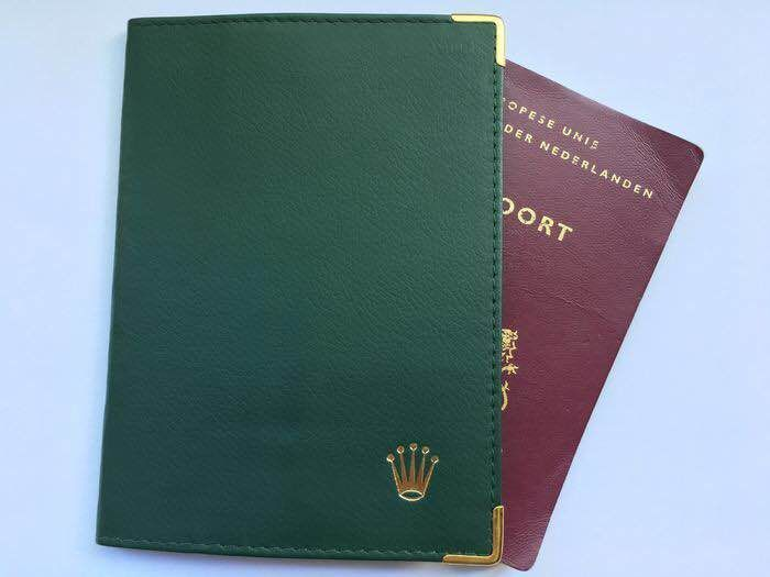Rolex passport holder (see photos)