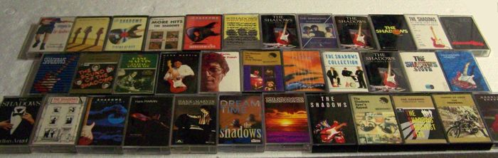 SHADOWS 36 Tape Cassettes / Colombia / Polydor