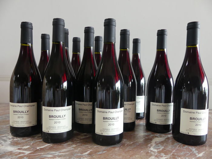 2010 - Brouilly - Domaine Paul Champier Owner - 12 bottles