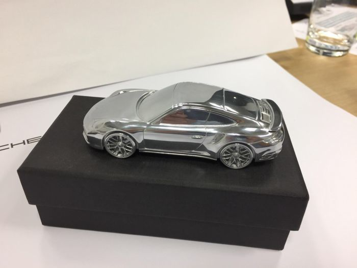 Paperweight - Porsche 911 Turbo Limited Edition - 2000