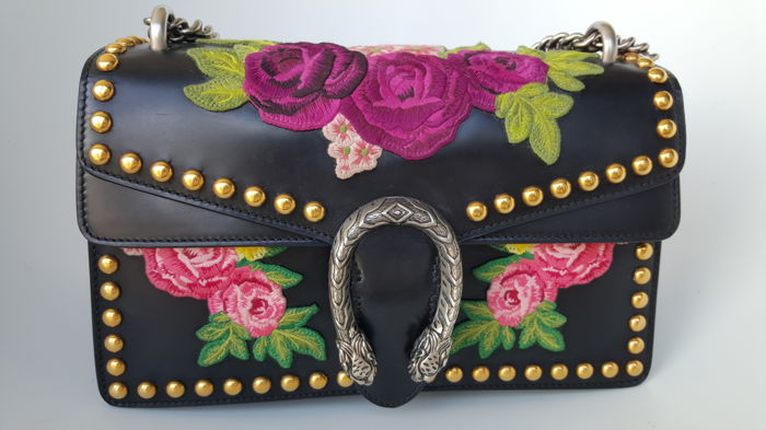 Gucci - Embroidered Studded Dionysus Sac en bandoulière - Catawiki 06f584be2cf