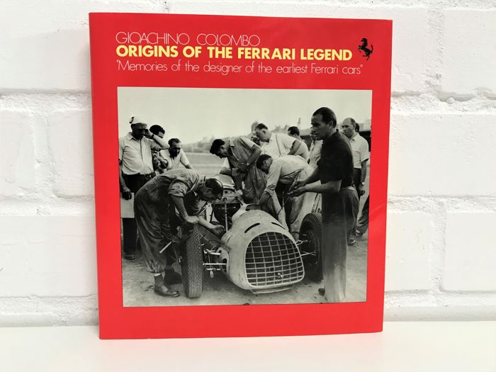 Books - Gioachino Colombo – Origins of the Ferrari legend. - 1987 (1 items)