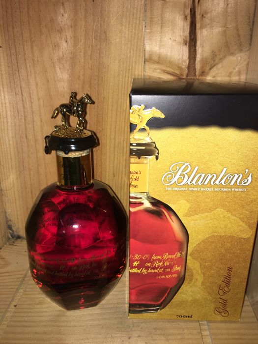 Blanton's Gold Edition 103 proof - b. 2018 - 70cl