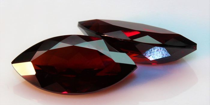 Pair of Rhodolite Garnets – 9.03 ct