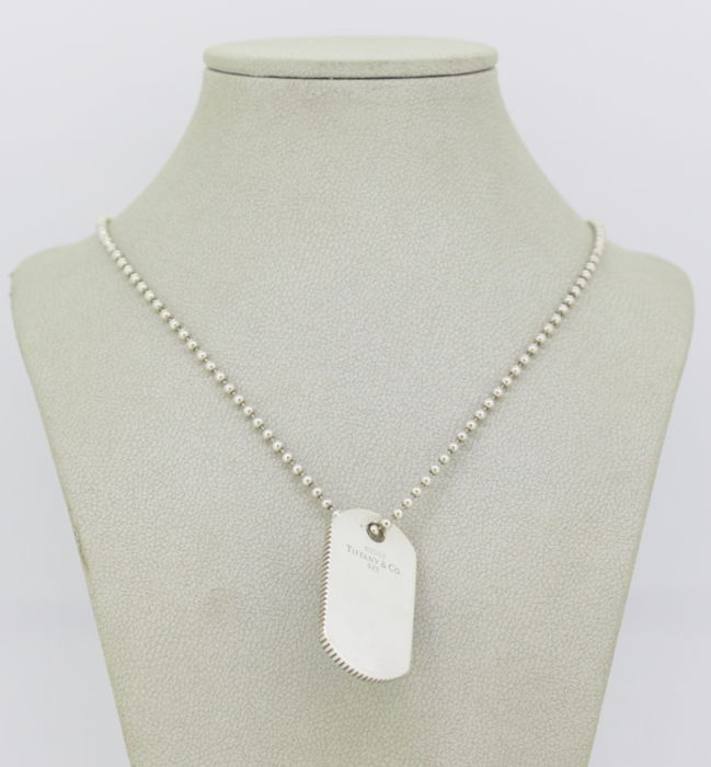 Tiffany & Co. - Sterling silver necklace with pendant,  - Made in USA 2003