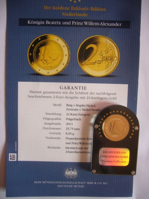 Europe 2 Euro 20072014 Plaqué Or 24 Carats 11 Pieces Catawiki
